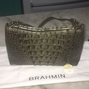 Brahmin Green Mini Shoulder Bag BNNT